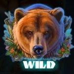 Wild symbol of free online casino game Kamchatka