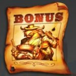 Bonus symbol of casino game The Wild 3 for fun