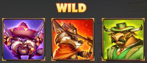 Wild symbols - The Wild 3 online free slot game no registration