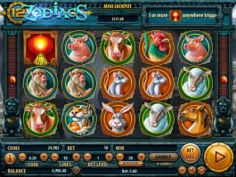No download game 12 Zodiacs by Habanero