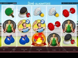 A picture of the casino slot game 2016 Gladiators