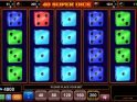 Online casino slot game 40 Super Dice no deposit