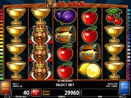 Slot machine for fun 40 Treasures