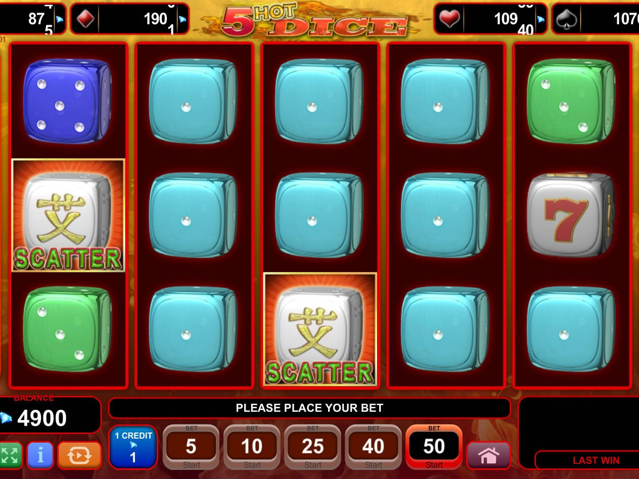 Spiele 5 Hot Dice - Video Slots Online