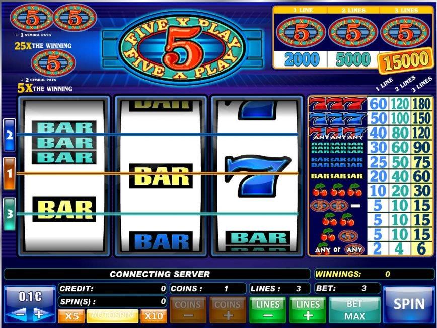 Casino free game 5x Play
