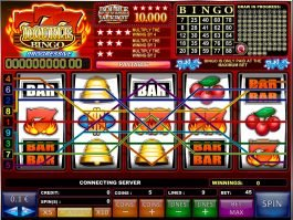 777 Double Bingo casino free slot game