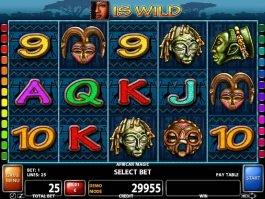 African Magic slot machine for fun
