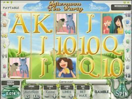 Afternoon Tea Party online free game
