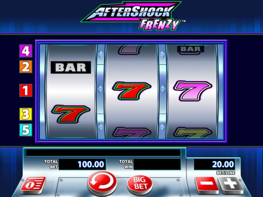 Spin casino game for fun AfterShock Frenzy