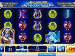 Age of the Gods: King of Olympus online free slot