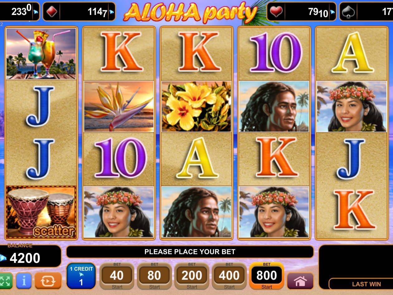 Aloha Party Slot Machine