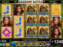 Slot machine for fun Amazons´ Battle