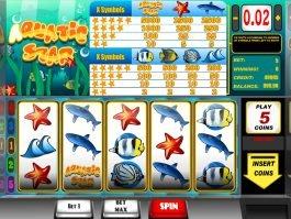 Casino slot machine Aquatic with no deposit