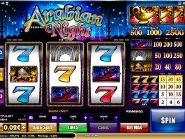 No registration slot machine Arabian Night