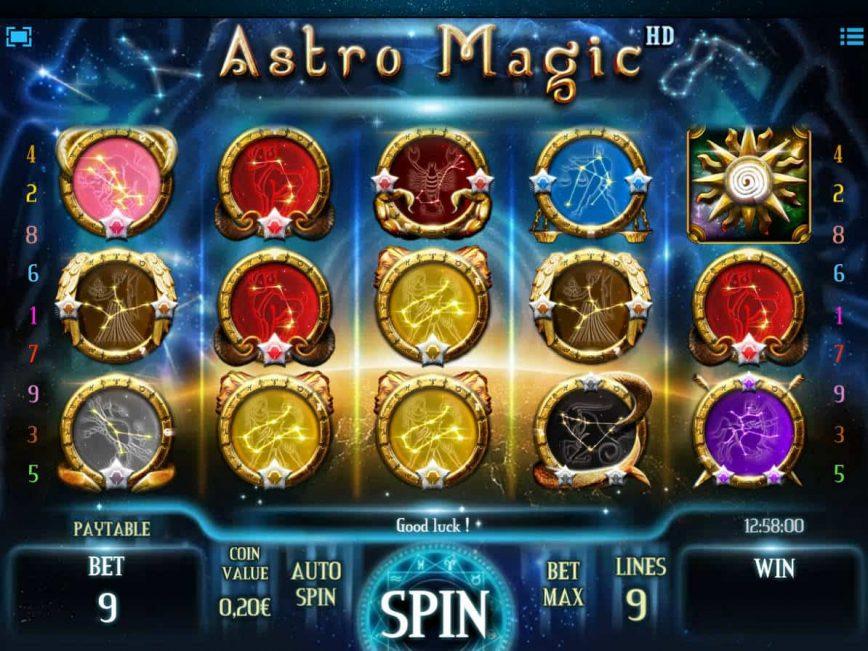 Play casino free slot game Astro Magic online