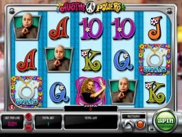 Casino slot machine Austin Powers
