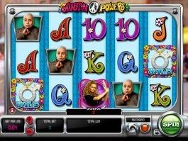 Casino slot machine Austin Powers