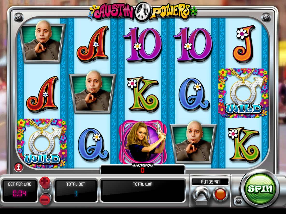 Austin powers free slots used casino roulette wheel