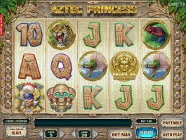 Online free casino slot game Aztec Princess