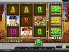 Online free slot Badlands Bounty