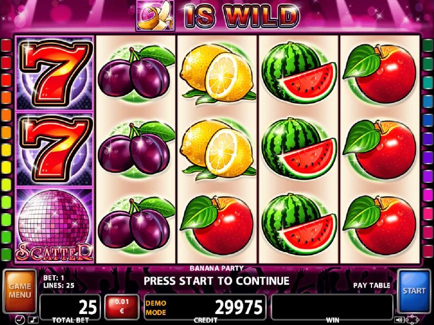 Casino free slot Banana Party