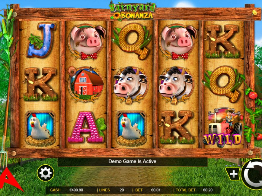 Casino slot machine for fun Barnyard Bonanza