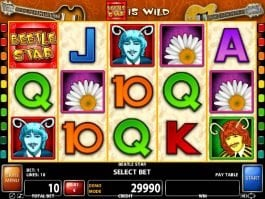 Spin online free slot Beetle Star