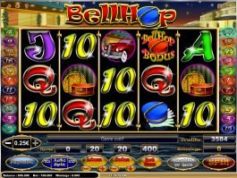 Spin free slot machine Bell Hop
