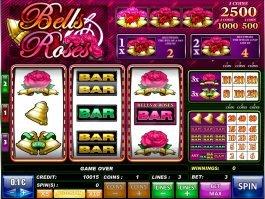 Bells and Roses no deposit slot machine