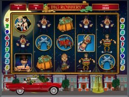 No download slot machine Big Robbery for free