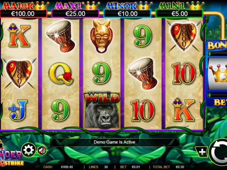 Big Thunder casino slot machine for fun