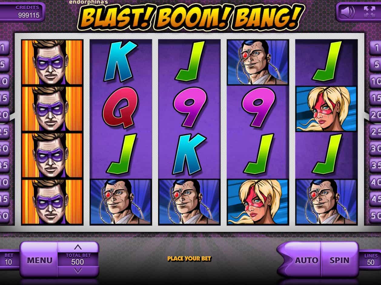 Blast! Boom! Bang! Slot Machine
