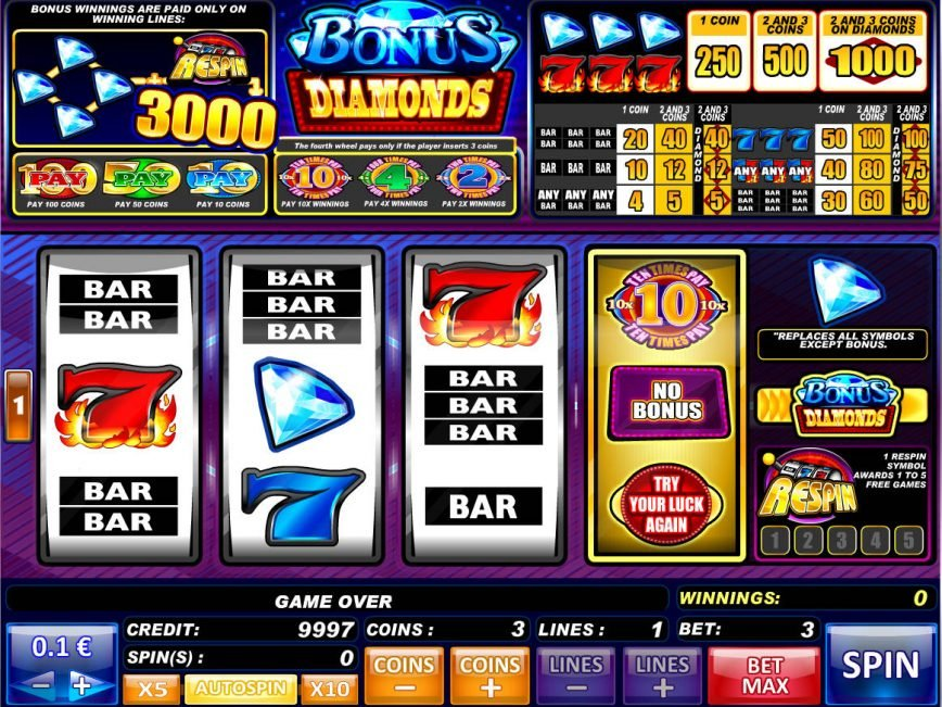 Online free game Bonus Diamonds no registration