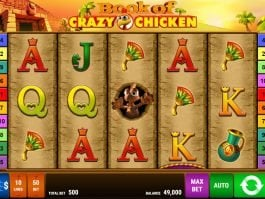 Book of Crazy Chicken online slot game