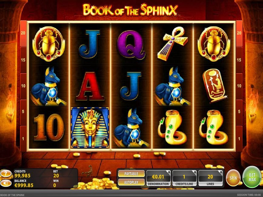 Book of the Sphinx online free slot game