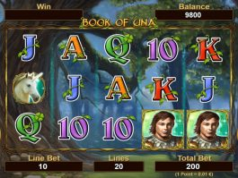 No deposit game slot Book of Una online