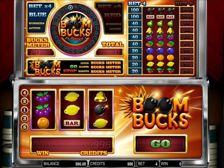Online free game Boom Bucks