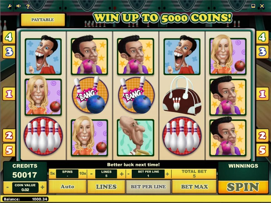 Play The Free Bowling Slots Here With No Download