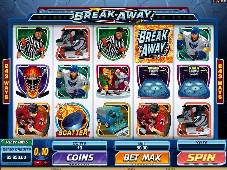 break away spielen