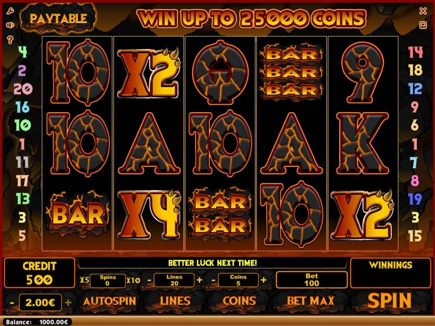 A picture of the casino slot game Breath of Fire
