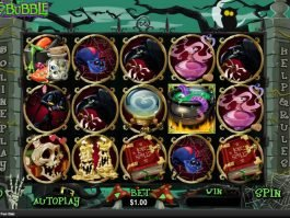 Casino online slot Bubble Bubble