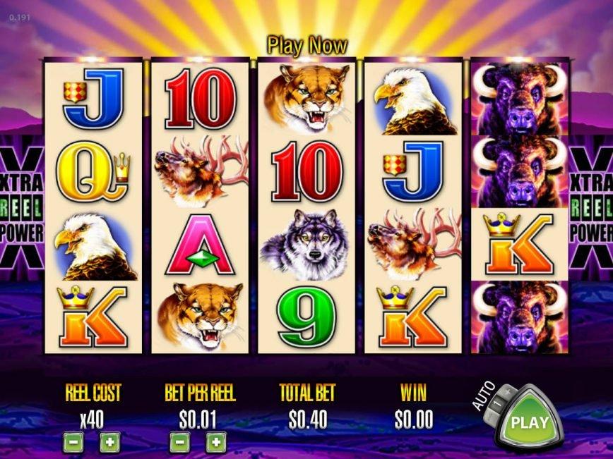 Play casino slot machine Buffalo online