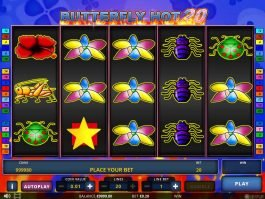 Spin slot game Butterfly Hot 20 for fun