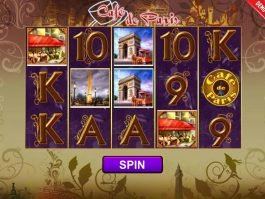 Play slot machine Café de Paris
