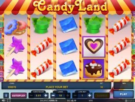 Spin online slot machine Candy Landy