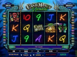 Cash Money Mermaids slot machine for fun
