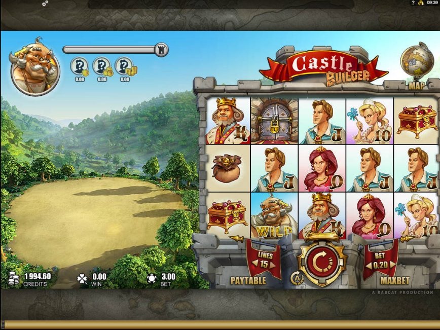 Castle Builder slot game for fun