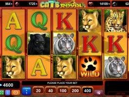No deposit game Cats Royal online
