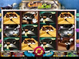 Spin slot machine with no registration Charlie the Cat
