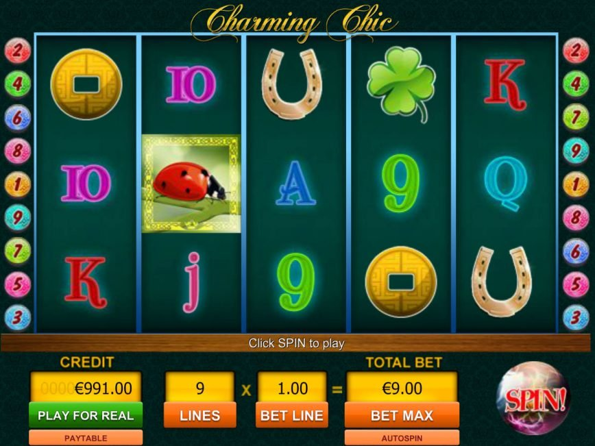 Play online free game Charming Chic